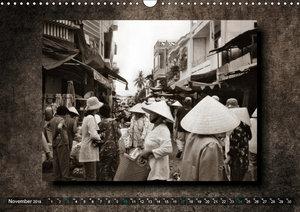 VIETNAM - Retro Impressionen (Wandkalender 2019 DIN A3 quer)