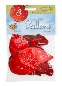 Luftballons Erdbeerinchen