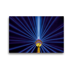 Premium Textil-Leinwand 45 cm x 30 cm quer Leuchtender Komet - 7