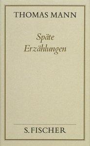 Späte Erzählungen ( Frankfurter Ausgabe)