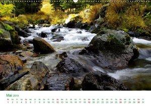 Bergwelt in Österreich (Wandkalender 2019 DIN A2 quer)