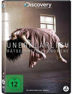Unerklärlich - Rätselhafte Phänomene. Staffel.2, 3 DVD