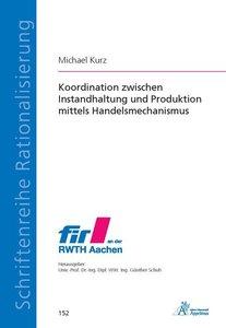 Koordination zwischen Instandhaltung und Produktion mittels Hand