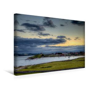 Premium Textil-Leinwand 45 cm x 30 cm quer Die Lindisfarne von H