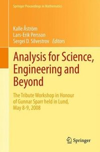 Analysis for Science, Engineering and Beyond