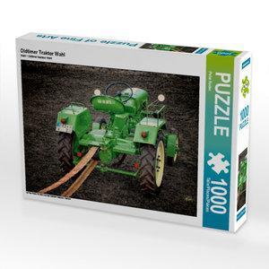 Oldtimer Traktor Wahl 1000 Teile Puzzle quer