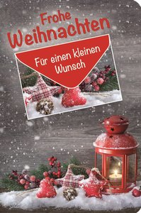 """Geschenkbuch """"Frohe Weihnachten"""""""