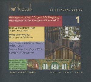 Arrangements für 2 Orgeln und Percussion