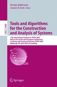 Tools and Algorithms for the Construction and Analysis of System