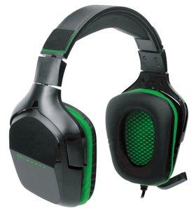 PIRANHA GAMING HEADSET HX90 7.1, Kopfhörer mit Klappmikrofon