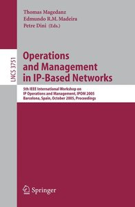 Operations and Management in IP-Based Networks