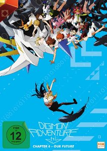 Digimon Adventure tri. - Chapter 6 - Our Future, 1 DVD