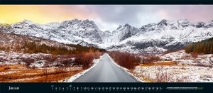 GEO-Panorama Naturkalender: Der Blick ins Weite 2019