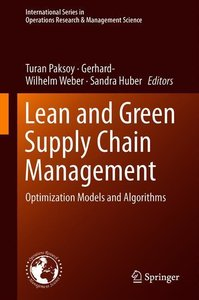 Lean and Green Supply Chain Management