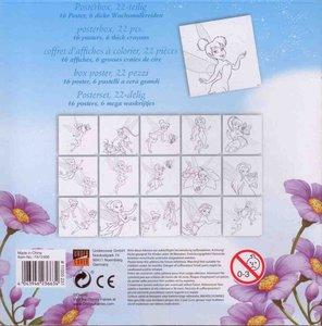 Disney Fairies Tinkerbell Posterbox, 22-teilig