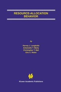 Resource-Allocation Behavior