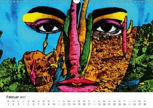 Dschungel Gesichter (Wandkalender 2017 DIN A3 quer)