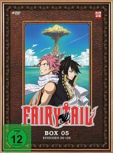 Fairy Tail - TV-Serie - Box 5 (Episoden 99-124) (4 DVDs)