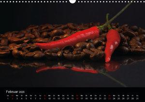 Hot Chili Küchen Kalender österreichisches Kalendarium (AT-Versi