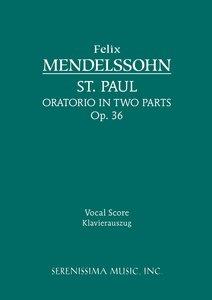 St. Paul, Op. 36 - Vocal Score