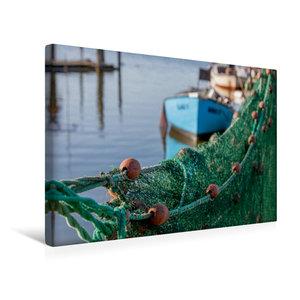 Premium Textil-Leinwand 45 cm x 30 cm quer Hafenromantik
