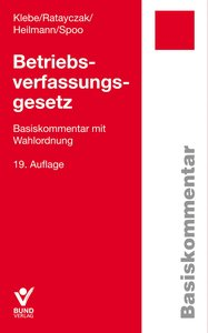 Betriebsverfassungsgesetz (BetrVG)
