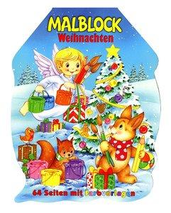 Weihnachtsmalblock Christkind