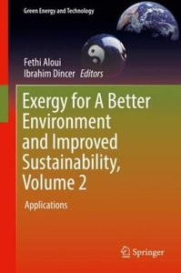 Exergy for A Better Environment and Improved Sustainability, Vol