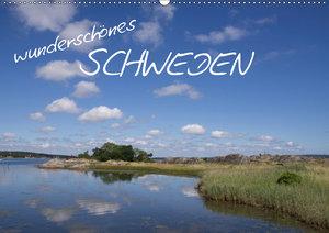 Wunderschönes Schweden (Wandkalender 2019 DIN A2 quer)