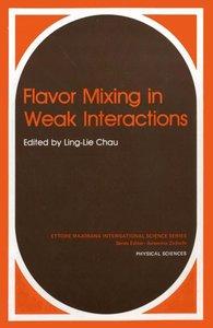 Flavor Mixing in Weak Interactions