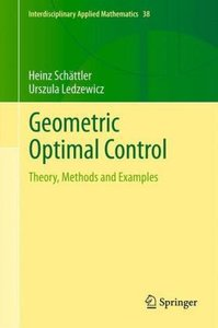 Geometric Optimal Control