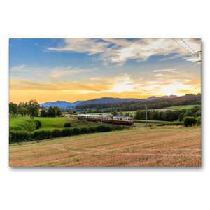 Premium Textil-Leinwand 90 cm x 60 cm quer Region Zofingen: Re 4