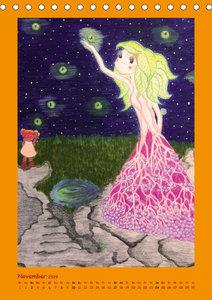 Zauberhafte Gartenfeen (Tischkalender 2019 DIN A5 hoch)
