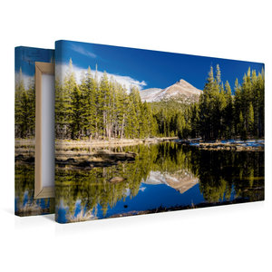 Premium Textil-Leinwand 45 cm x 30 cm quer Yosemite Nationalpark