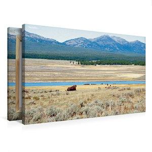 Premium Textil-Leinwand 75 cm x 50 cm quer Wandbild Hayden Valle