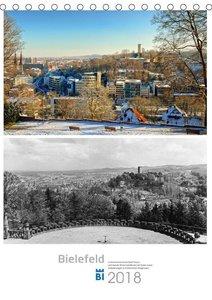 Bielefelder Fotomotive heute und damals mit historischen Ereigni