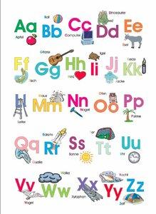 Das bunte Kinder-ABC. Postkarten