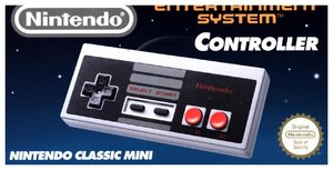 Nintendo Classic Mini, Nintendo Entertainment System NES-Control