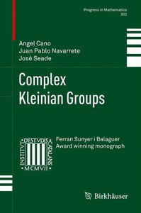 Complex Kleinian Groups