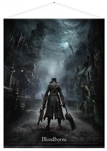 Bloodborne Wallscroll / Banner - Night Street