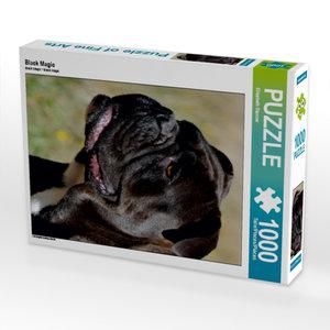 Black Magic 1000 Teile Puzzle hoch