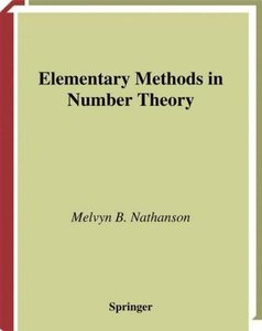 Elementary Methods in Number Theory