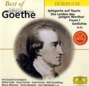 Best of Johann Wolfgang von Goethe 2 CDs