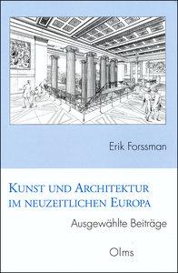 Kunst und Architektur im neuzeitlichen Europa