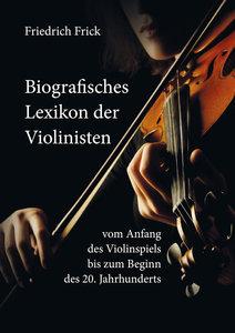 Biografisches Lexikon der Violinisten