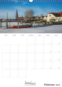 Grüße aus der Schleistadt Schleswig (Wandkalender 2018 DIN A3 ho