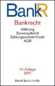 Bankrecht (BankR)
