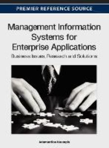 Management Information Systems for Enterprise Applications: Busi