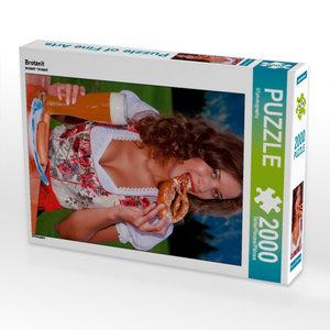 Brotzeit 2000 Teile Puzzle hoch