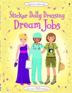Sticker Dolly Dressing: Dream Jobs